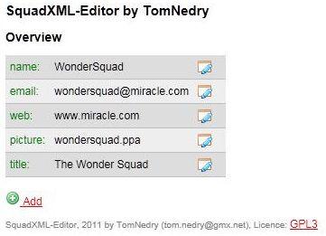 Squad xml download